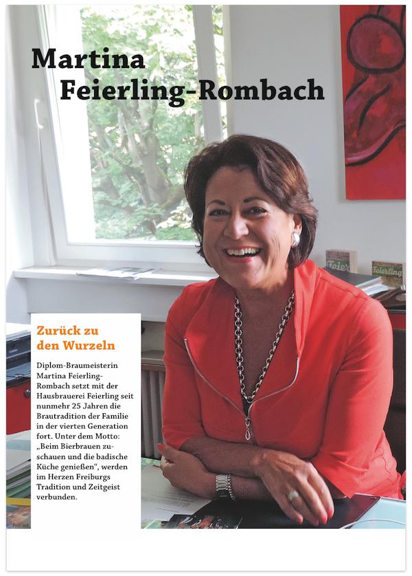 Weihenstephaner - Portrait von Martina Feierling-Rombach